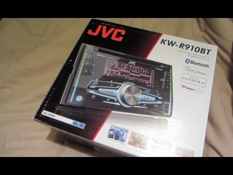 jvc kw r910bt test doovi. Black Bedroom Furniture Sets. Home Design Ideas