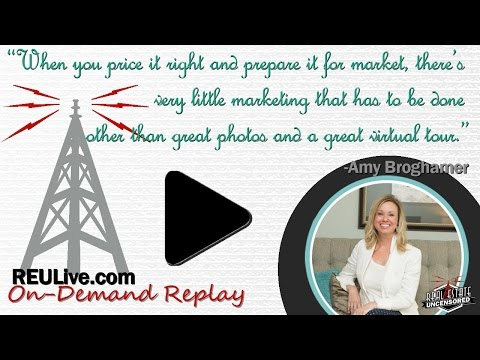 Real Estate Agent Marketing: How to Sell 100% of Your Listings w/Amy Broghamer