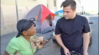 GIVING BACK Feeding 500 HOMELESS in LA