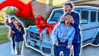 "SURPRISING ""JAZZANDTAE"" WITH A BRAND NEW CAR **REAL FRIENDS**"