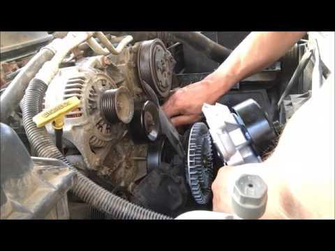 Replace 2001 Dodge Dakota Water Pump