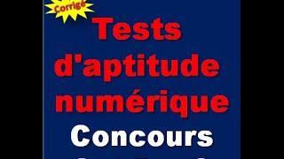 Entraînement aux tests d'aptitude numérique (problèmes résolus)