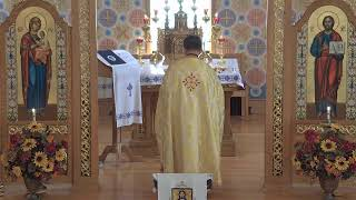 (UKR) Oct 18 Divine Liturgy
