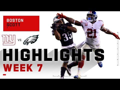 Boston Scott Comes Up CLUTCH vs. Giants | NFL 2020 Highlights