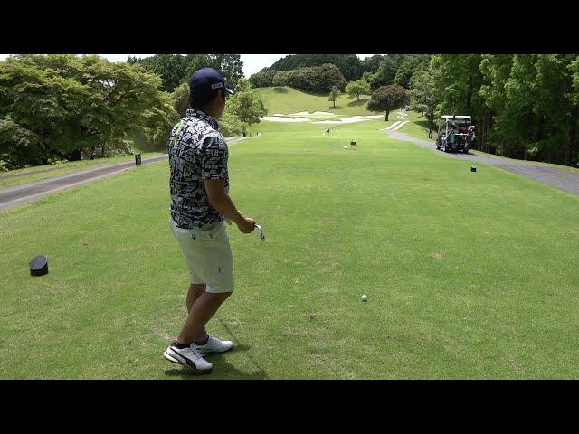 オシャンティーゴルフ合間の190yのPar3の攻略