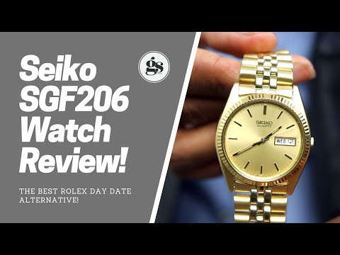 Seiko SGF206 | Best AFFORDABLE Alternative to The Rolex Day Date!