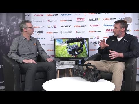 Panasonic EVA1 Spec Update - Australian first look working camera - Broadcast Brains