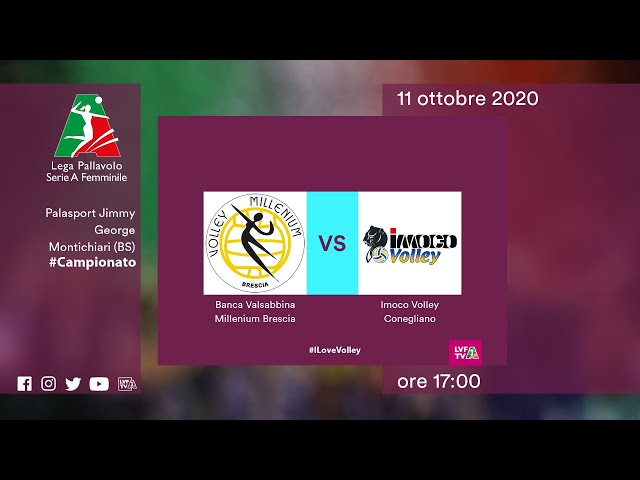 Brescia - Conegliano | Speciale | 4^Giornata Campionato | Lega Volley Femminile 2020/21
