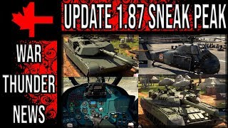 War Thunder Live - Sneak Peak into Update 1.87 Locked On