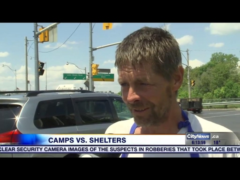 Tent cities on the rise as shelters remain near capacity