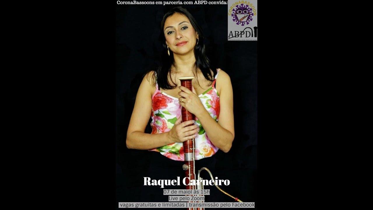 Live com a professora Raquel Carneiro