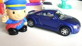 Детское видео. Почтовая машина и почтальон. Машины для детей(В этом детском видео почтальон расскажет о своей очень важной работе. Он доставляет людям письма и посылки..., 2015-06-28T08:03:33.000Z)