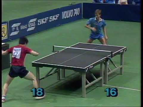 1985 38th WTTTC Lindh vs Chen xinhua(China-Sewden)