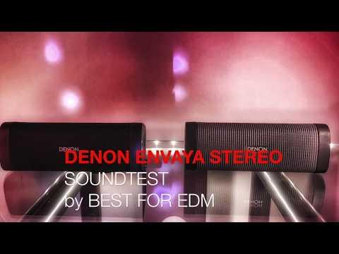 DENON ENVAYA STEREO Mode Speaker demo & review - 2 speakers paired