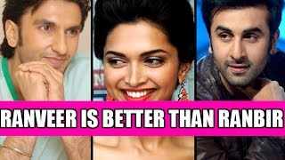 """Omg!! Deepika Says """"ranveer Is Better Than Ranbir"""""""