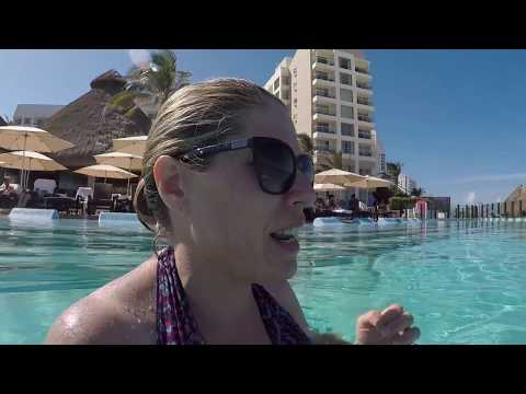 Cancun Vlog #6   Westin Lagunamar Pool, Amenities & restaurants   Hotel Zone Peek!