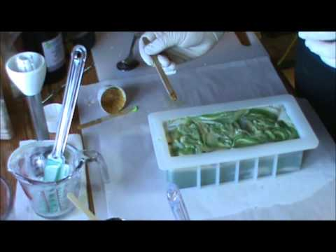 Making & Cutting Lemongrass CP Soap