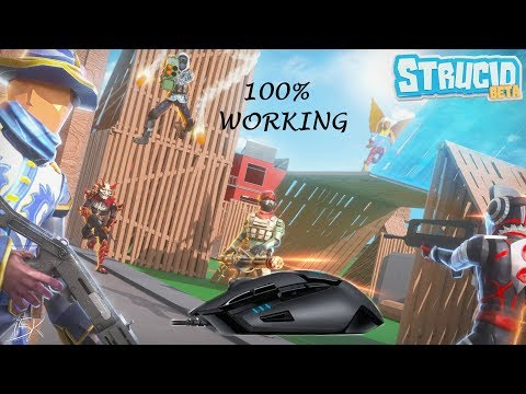 How to use SIDE BUTTONS in Strucid!   Roblox