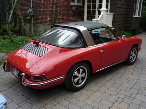 rare 1968 porsche 911 targa soft rear window for sale. Black Bedroom Furniture Sets. Home Design Ideas