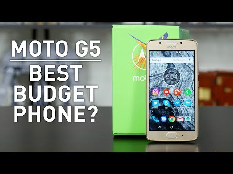 Moto G5 & G5 Plus Review: Best Budget Phone?
