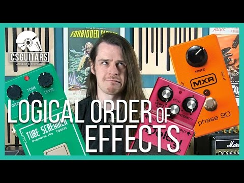 Logical Order of Effects