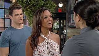 Theo Tells Celeste About Kyle's Past! The Young And The Restless