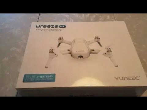 Yuneec Breeze Flying Camera Drone Quadcopter Instructional Review