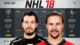 WHAT IT WOULD COST EACH TEAM TO TRADE FOR ERIK KARLSSON - NHL 18