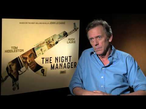 "Thumbnail: Hugh Laurie dishes villainous role in AMC limited series ""The Night Manager"""