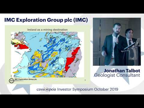 [FULL PRESENTATION] Cassiopeia Investor Symposium October 2019: IMC Exploration Group PLC (LSE:IMC)