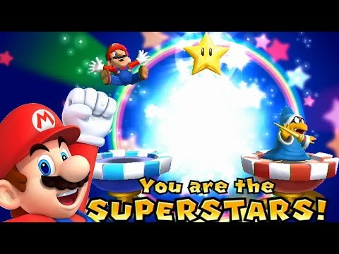Mario Party 9◆Solo Mode #4 Mario◆Blooper Beach◆2 Players Tie For 1st Place (Draw)