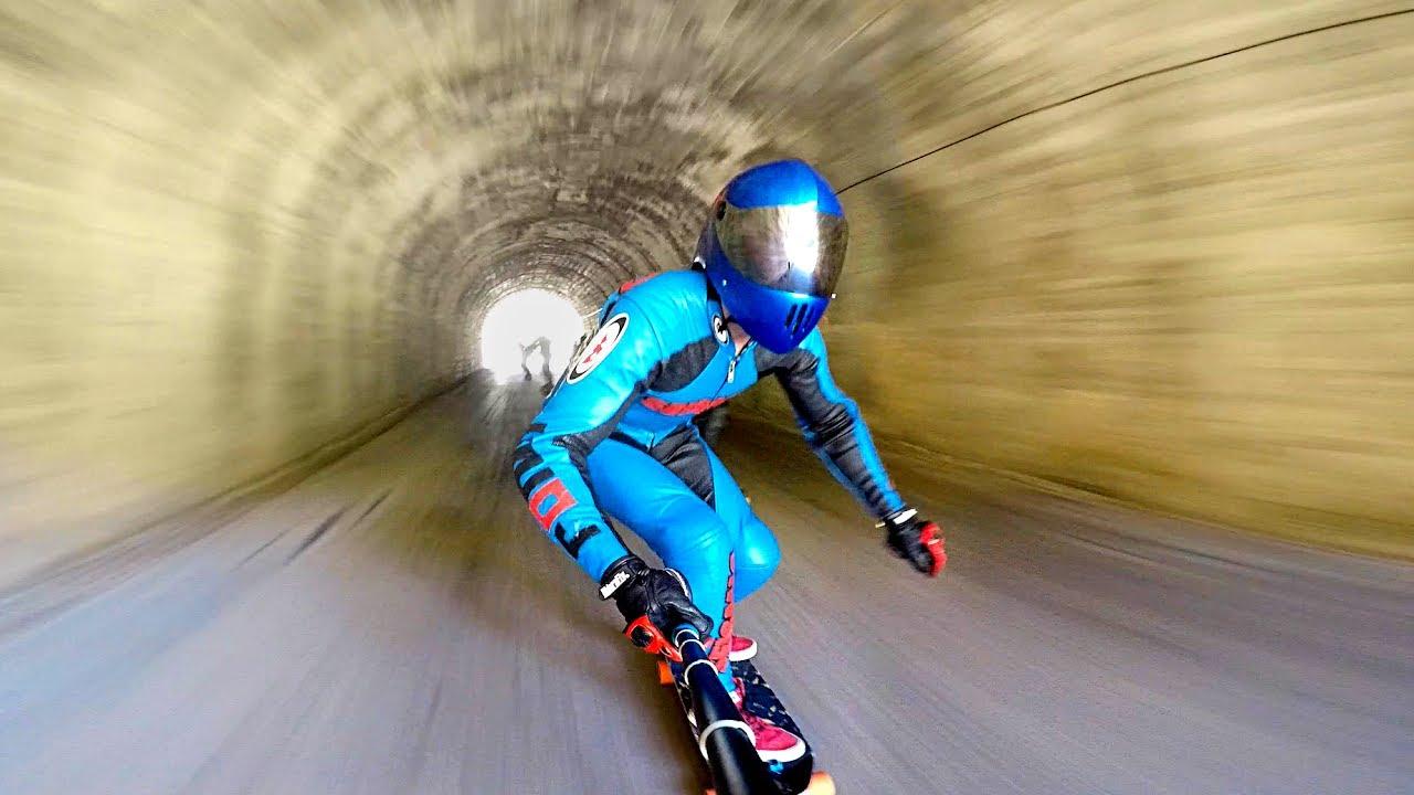 extreme downhill skateboarding youtube