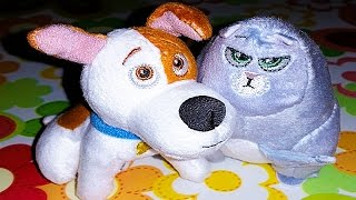 НАСТЮШИК и ТАЙНАЯ ЖИЗНЬ ДОМАШНИХ ЖИВОТНЫХ игрушки Хэппи Мил The Secret Life of Pets Happy Meal