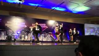 Singapore Salsa Performance Aceki World Salsa Championship 2012 Team Semi Finals 1