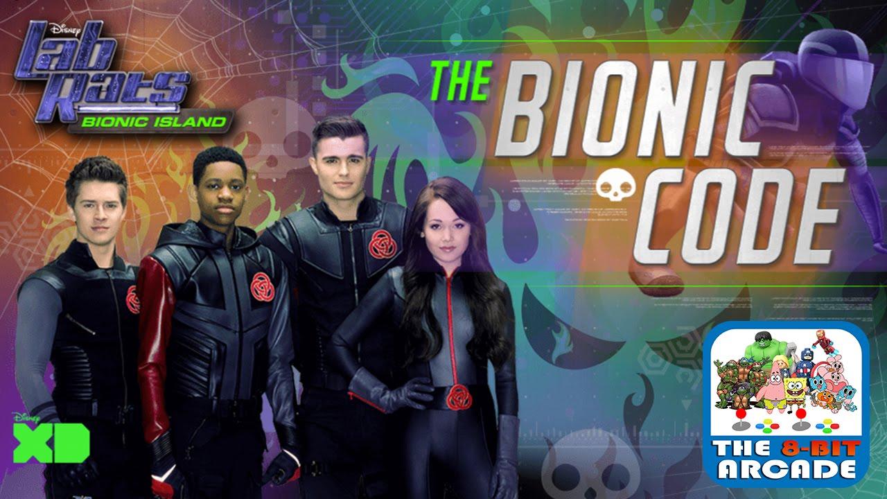 Lab Rats Bionic Island The Bionic Code Gameplay Playthrough