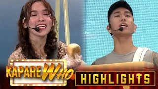 Jacque and Nikko exchange jokes about monay and pandesal | It's Showtime KapareWho