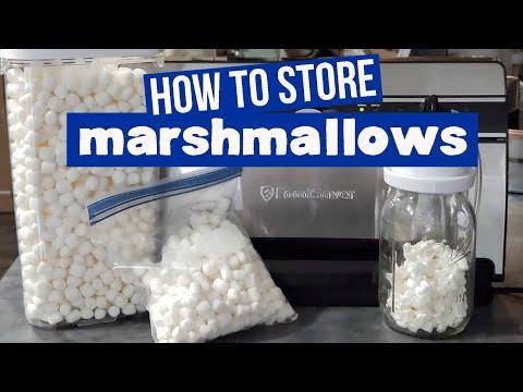 How to Store Marshmallows | Dehydrate Marshmallows | Vacuum Seal Marshmallows