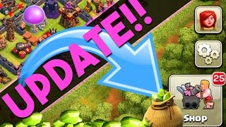 Clash of Clans  ::  GEMMING THE UPDATE  ::  I MAX SOME WALLS!