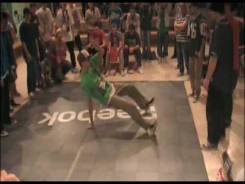 Zomby & Petro Rock _vs_ Forcy Flave & Bist (Reebok Jazzy battles)