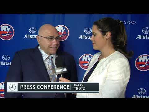 Barry Trotz: Guys Are Starting To Believe In What We're Doing | MSG Networks