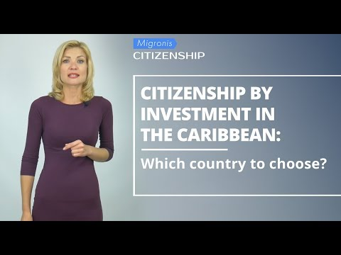 Caribbean passport programs 👉 Comparison of government citizenship by investment programs