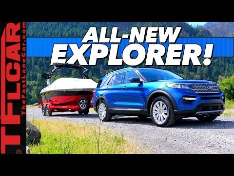 Will It Tow? We Put The New 2020 Ford Explorer To The Test!