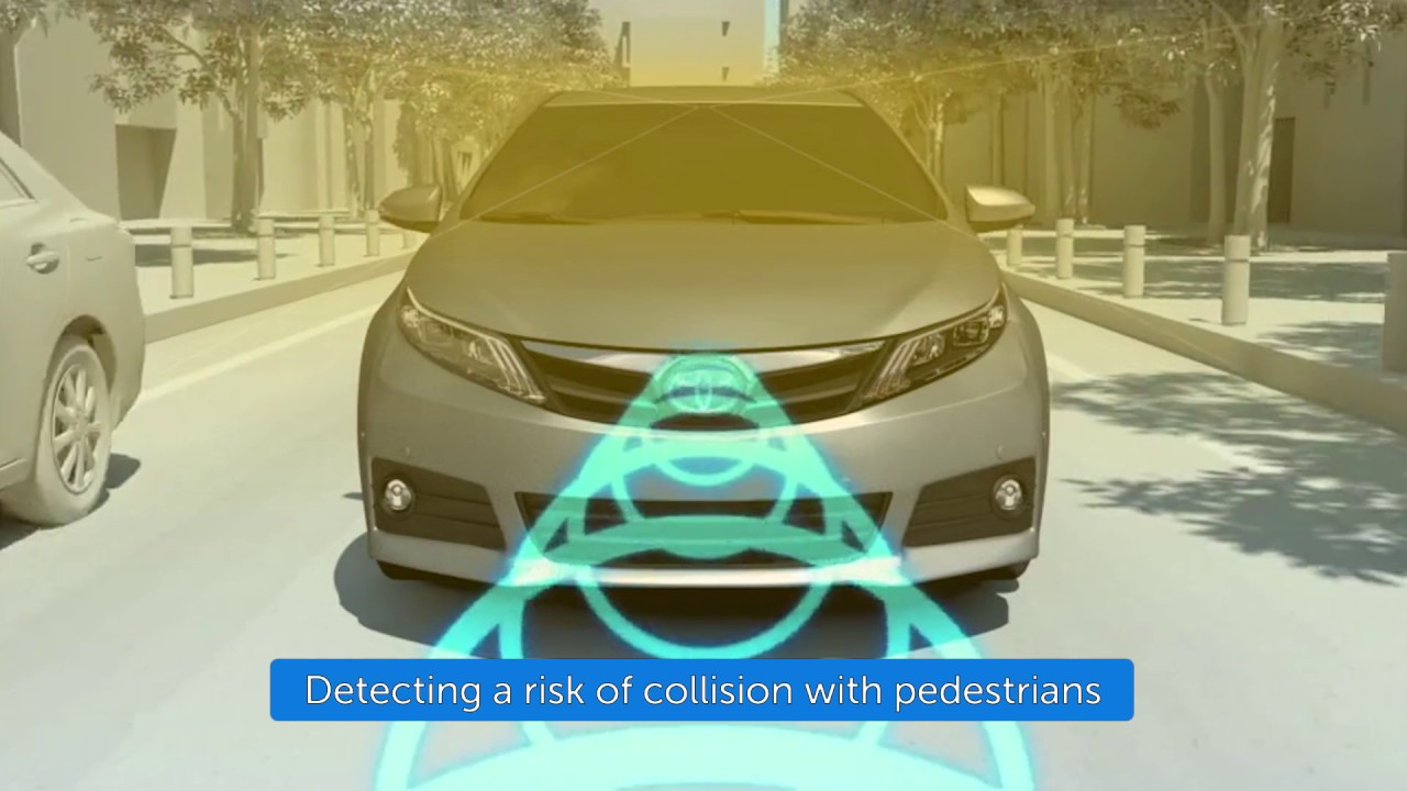 Toyota Safety Sense P Pre Collision System With