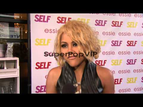 INTERVIEW: Kat DeLuna on why she came out tonight. On bei...