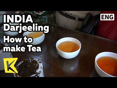 【K】India Travel-Darjeeling[인도 여행-다르질링]차를 맛있게 즐기는 방법/How to make Tea