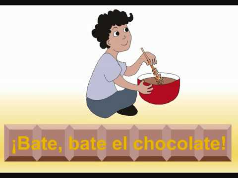 Spanish for Kids - Chocolate Song from Babelzone!