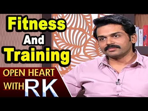 Actor Karthi About His Fitness And Training | Open Heart With RK | ABN Telugu