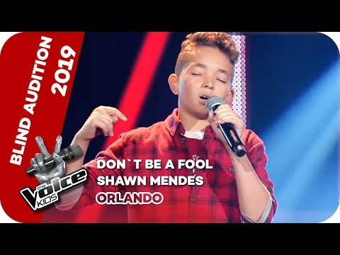 Shawn Mendes - Don't Be A Fool (Orlando) | Blind Auditions | The Voice Kids 2019 | SAT.1