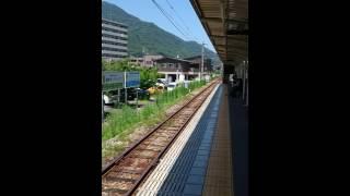 227系 七軒茶屋駅入線