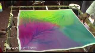 Curso pintura en seda nivel 1